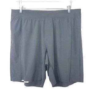 Lululemon XL Men's Black Running Shorts Reflective